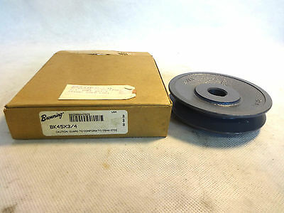 """New In Box Browning Bk45X-3/4 3/4"""" Bore V-Belt Pulley Sheave"""