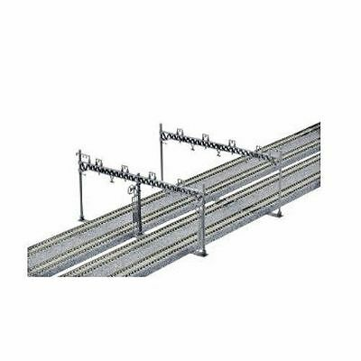 New Kato Unitrack 23-064 Quadruple Track Catenary Mast (10)