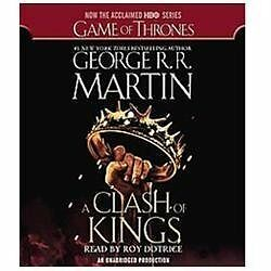 A Clash of Kings Bk. 2 by George R. R. Martin (2012, CD, Movie Tie-In,...