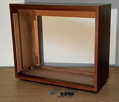 """TEAC X Series 7"""" deck Wood Case/Cabinet for REEL TO REEL - Excellent Condition"""