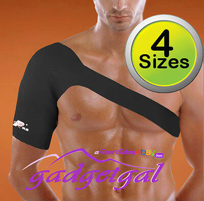 Neoprene Shoulder Support Brace Strap / Compression  in Small, Med, Large & XL