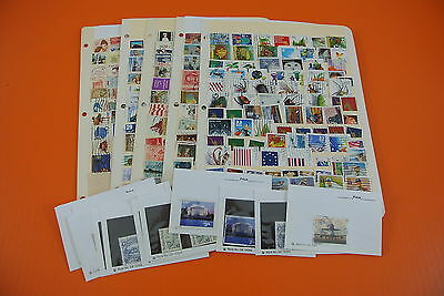 USA POSTAGE STAMP COLLECTION WITH HIGHER VALUES (#2556)