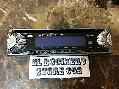 JVC KD-G220   *** STEREO FACEPLATE ONLY *** AM FM EQ CD MP3 WMA