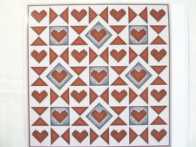 TAPESTRY CHART - HEARTS & STARS by WILLIAMHOPE DESIGNS......060