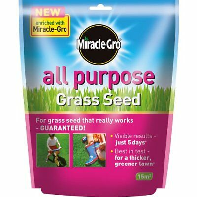 Scotts Miracle-Gro All Purpose Grass Seed - 450g for lawns