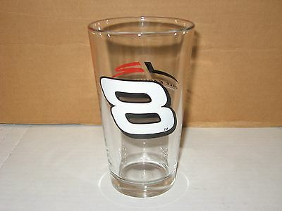 DALE EARNHARDT JR. #8 BUDWEISER GLASS
