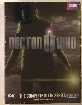 DOCTOR WHO: Complete Sixth Series - NEW SEALED DVDS!!