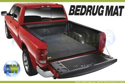 BedRug Custom Gray 6.25ft Bed Mat For Truck With Existing Drop In Liner BMT02SBD