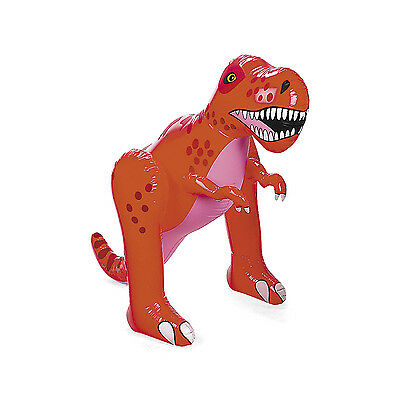 Inflatable 4 Ft T Rex Tyrannosaurus Dinosaur Extinct Paleontologists Party Favor