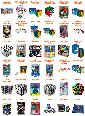 Original Rubik Cube, 27 Different Types, directly from its inventor, You Choose