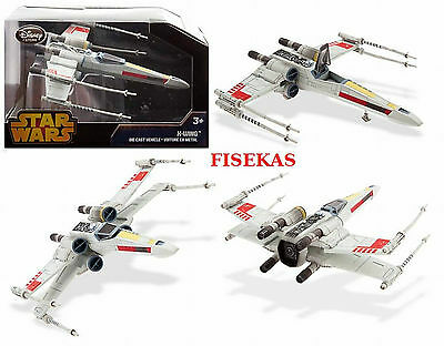 Disney Store Star Wars X-Wing Fighter Die Cast Vehicle Imperial Forces 2014 NEW