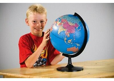 Edu-Toys - Swivel Globe - 28cm NEW * kids learn political geography map world