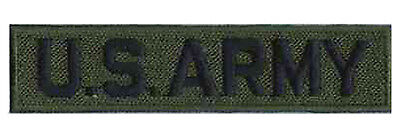 Ecusson hotfix patche thermcollant patch army militaire US ARMY kaki