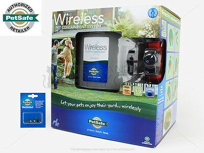PetSafe PIF-300 Wireless Instant Electric Dog Fence Containmen​t + Flex Contacts