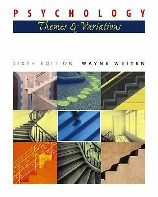 Psychology : Themes and Variations(with Concept Charts and InfoTrac) by Wayne...