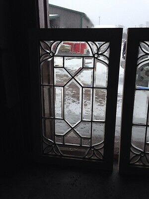 Two Available Sg 117 Beveled And Jewels Antique Window