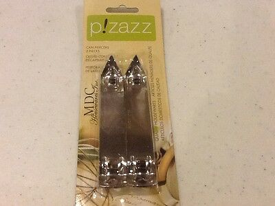 PIZAZZ CAN PIERCERS PACK OF TWO NEW IN THE ORIGINAL PACKAGE