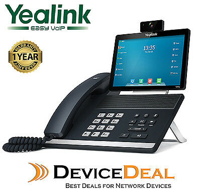 "Yealink SIP-T49G 16 Line IP Full-HD Video Phone 8"" colour touch screen"