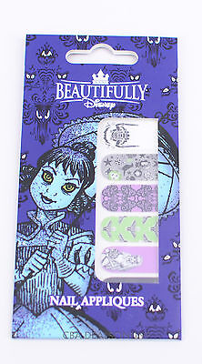 NEW Beautifully Disney Nail Appliqués Stickers Haunted Mansion Ghost Bride Goth
