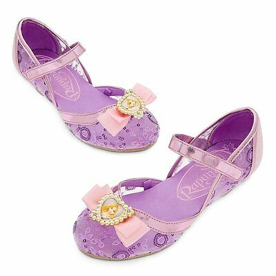 Disney Deluxe Tangled Princess Rapunzel Girls Shoes Size 7/8 9/10 11/12 13/1