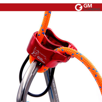 Red Belay / Rappel Double Slot Device / Outdoor Mountaineering  Rock Climbing
