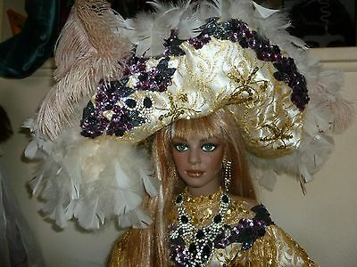 "42"" DIVA PORCELAIN DOLL BY RUSTIE & DONNA RUBERT"