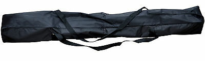 Microphone Stand Carry Bag Large Strong Case For Tripod Mic Stands + Boom New