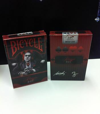 Bicycle Made Kingpin Deck Limited Edition Playing Cards New