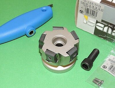 """ISCAR TANGMILL 2"""" Indexable Face Mill w/ Inserts (F90LN D2.00-05-.75-R-N15)"""
