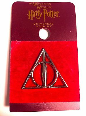 Wizarding World Of Harry Potter THE DEATHLY HALLOWS METAL TRADING PIN Universal