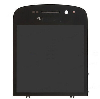 Black color Original For Blackberry Q10 LCD Display and Touch Screen digitizer