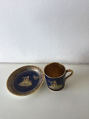 Carlton Ware, Mikado, Cup And Saucer