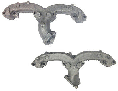 Exhaust Manifolds Chevy GMC Van Pickup Truck V8 Ram Horn New Pair Set