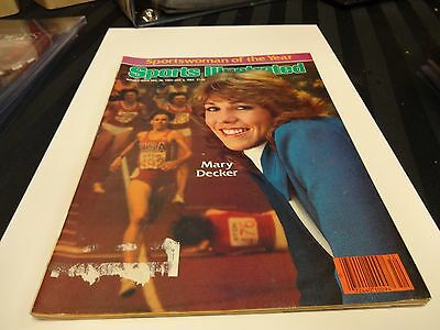 1983/84 Sports Illustrated Dec.26th- Jan.2nd Mary Decker Sportswoman Of The Year