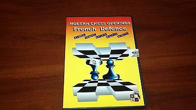 Modern Chess Openings French Defense from Convekta Chess Software FREE SHIPPING!