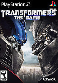 Transformers The Game WITH BONUS DISC Sony PlayStation 2 PS PS2