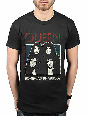 Official Queen Bo Rhap Bohemian Rhapsody NEW Graphic T-Shirt Rock Band Fan Merch