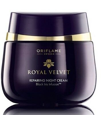 Oriflame Royal Velvet Repairing Night Cream, 50ml New