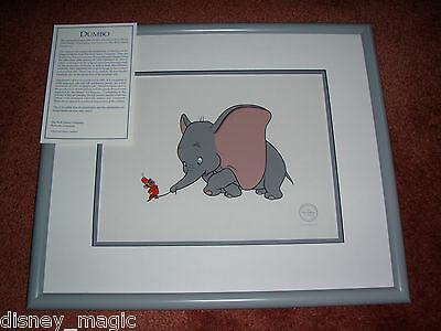 DISNEY  DUMBO AND TIMOTHY LIMITED EDITION  SERIGRAPH CEL  SERICEL