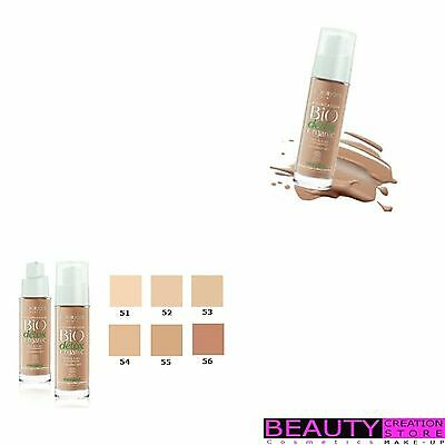 BOURJOIS Bio Detox Organic Foundation CHOOSE SHADE BJ045