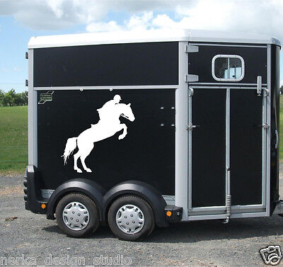 Horse Rider 2 stickers / Horse stickers / Horse Trailer Stickers / S65