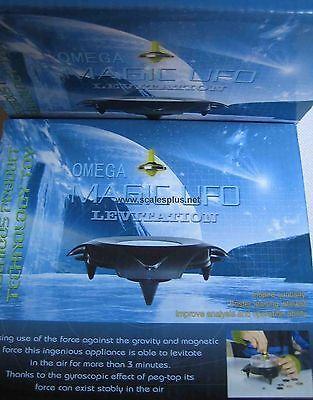 Omega Magic UFO Magnetic Levitation Spinning Top Levitating by Spin Science Toy