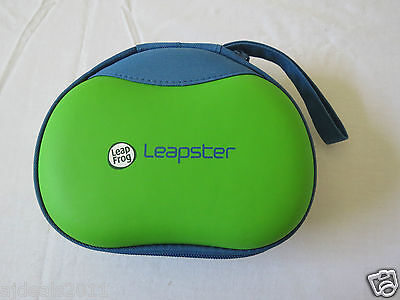 LEAP FROG LEAPSTER / LEAPSTER 2 CARRING CASE - GREEN & BLUE