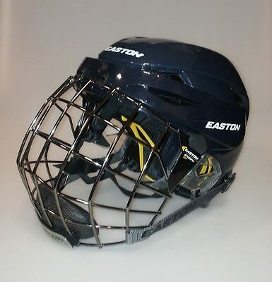 Easton E600 Hockey Helmet Combo Sr Color - Navy
