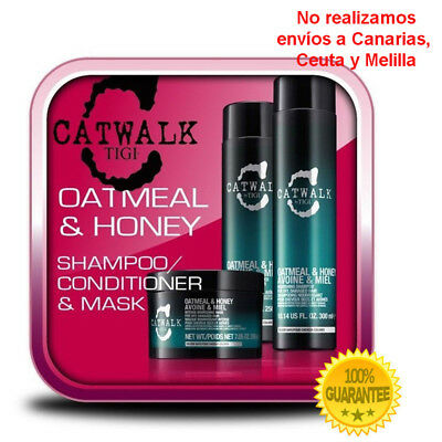 Tigi Oatmeal Shampoo, Conditioner y Mascarilla