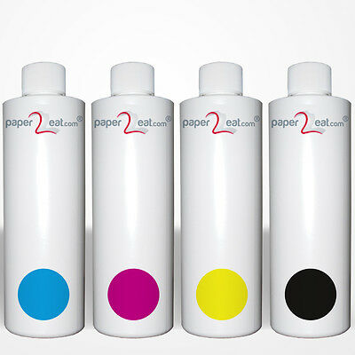 MULTIPACK OF 4 x 8 fl.oz. (4 x 240ml) PREMIUM EDIBLE INK REFILL F. CANON PRINTER