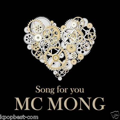 MC Mong - Song for You (Mini Album) CD Love Mash Boredom addiction K-pop