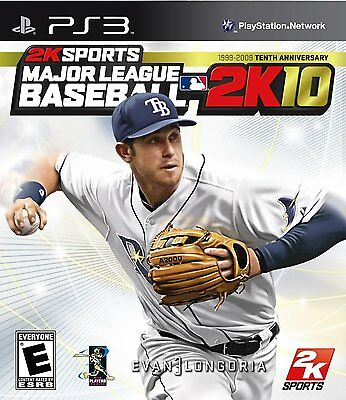 Major League Baseball 2K10 PS3 BRAND NEW FACTORY SEALED