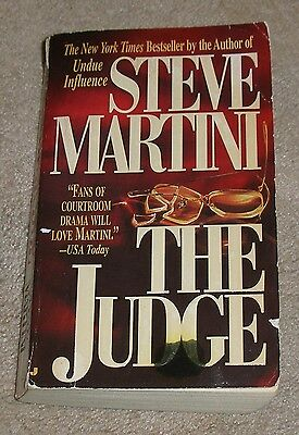 THE JUDGE by Steve Martini (1996, Paperback)  SAVE Combine Shipping