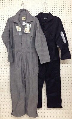 Key ~ Men's ~ Deluxe Unlined Long Sleeve Coveralls